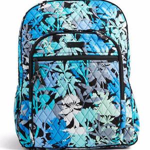 NWT Vera bradley campus backpack Camofloral